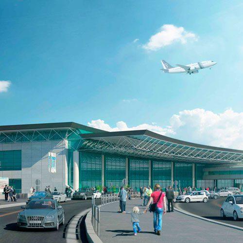 hub est aeroporto di roma